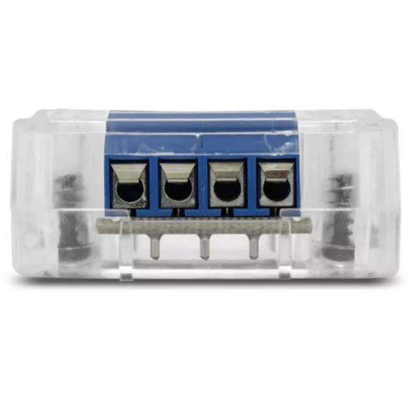 Voltímetro Banda Expert Electronics VEX 1.0 com Led na cor Azul