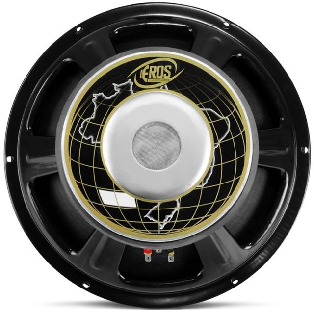 """Alto Falante Woofer Eros 12"""" E312LC 400W Rms 4 Ohms"""