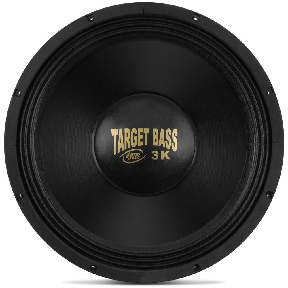 """Alto Falante Woofer Eros 15"""" E15 Target Bass 3.0K 1500W Rms 4 Ohms"""
