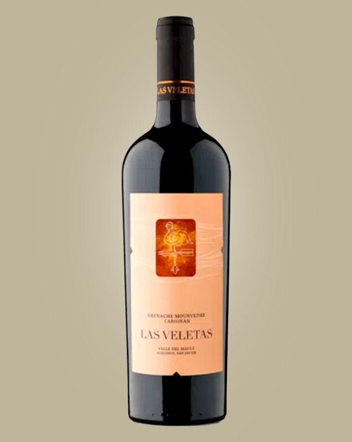 Vinho Las Veletas Blend Grenache/Mourvedre/Carignan Syrah 2016 Tinto Chile 750 ml