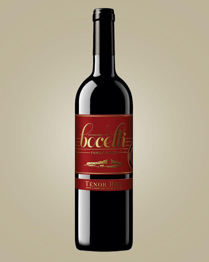 Vinho Bocelli Tenor Red IGT 2017 Tinto Italia 750 ml