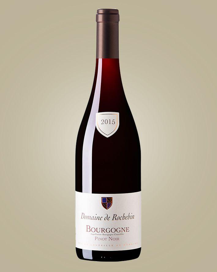 Vinho Domaine de Rochebin Bourgogne Pinot Noir 2017 Tinto França 750 ml