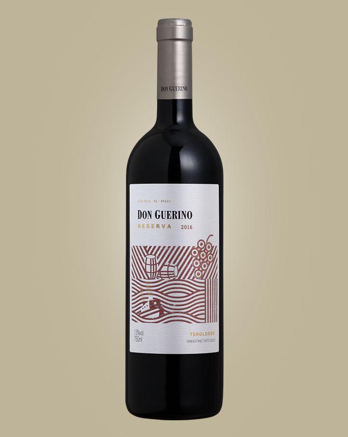 Vinho Don Guerino Reserva Teroldego 2018 Tinto Brasil 750 ML