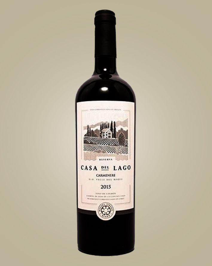 Vinho Casa Del Lago Carmanere 2017 Tinto Chile 750 ml