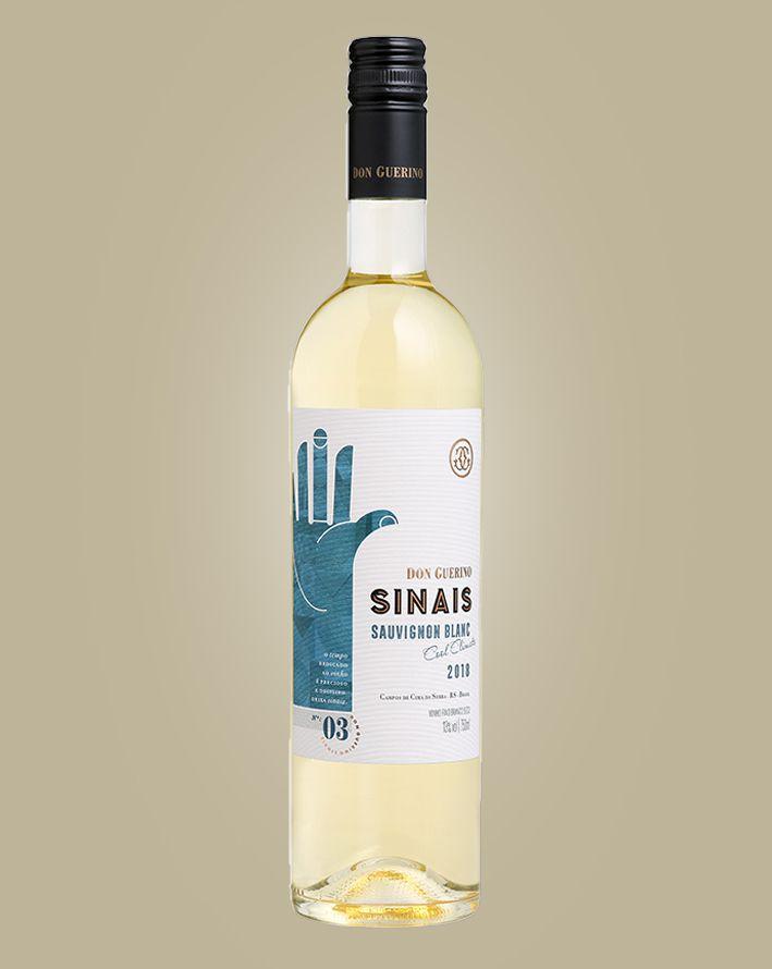 Vinho Don Guerino Sinais Sauvignon Blanc 2018 Branco Brasil 750 ML