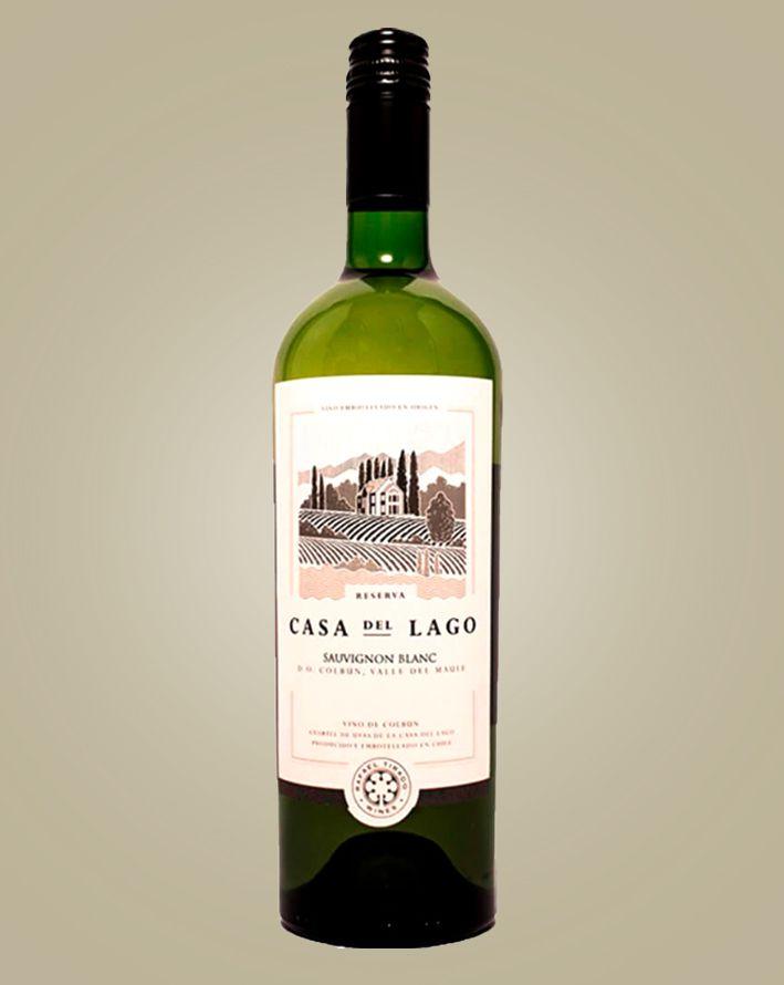Vinho Casa Del Lago Sauvignon Blanc  2017 Tinto Chile 750 ml