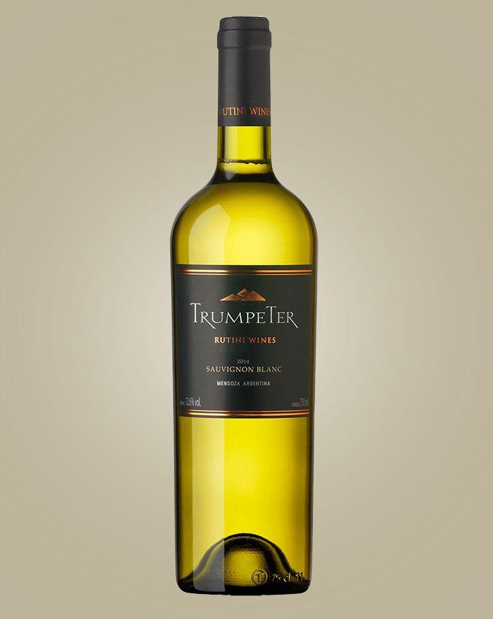 Vinho Rutini Wines Trumpeter Sauvignon Blanc 2018 Branco Argentina 750 ml