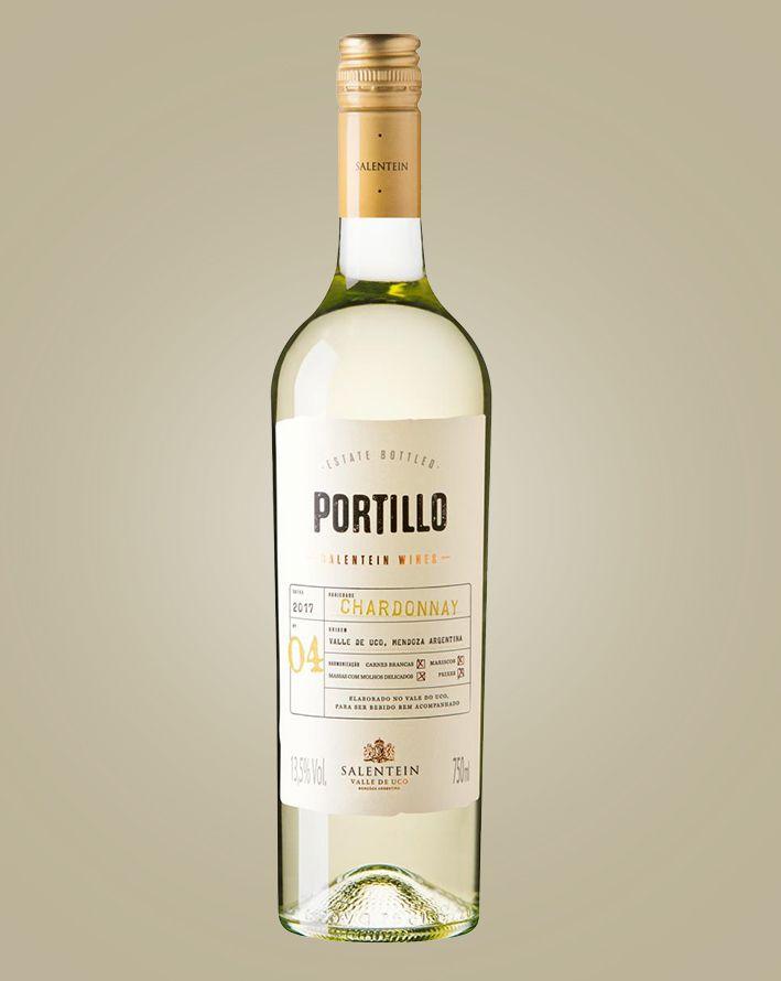 Vinho Salentein Portillo Chardonnay 2019 Argentina Branco 750 ml
