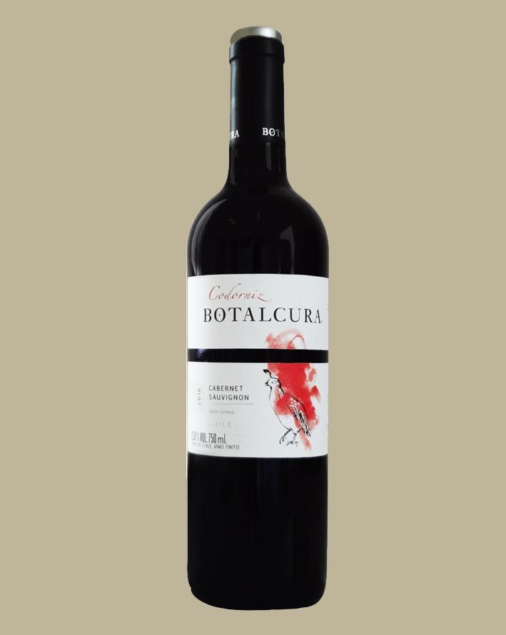 Vinho Botalcura Codorniz Cabernet Sauvignon 2015 Chile 750 ml