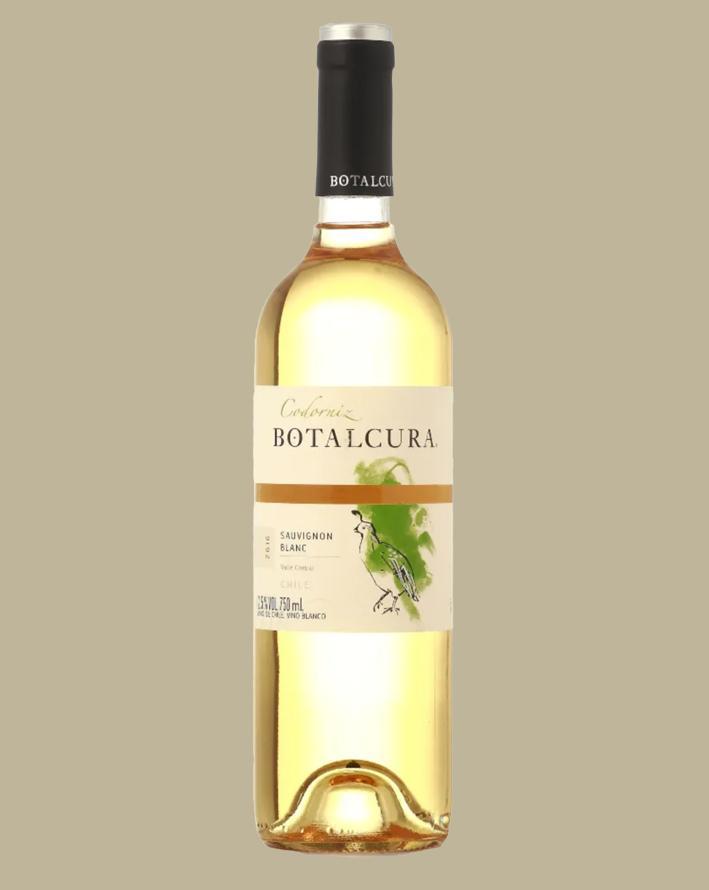 Vinho Botalcura Codorniz  Sauvignon Blanc 2016 Branco  Chile 750 ml