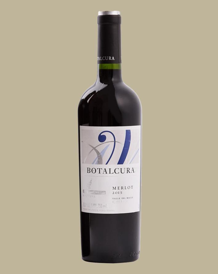 Vinho Botalcura El Delirio Merlot 2016 Tinto Chile 750 ml
