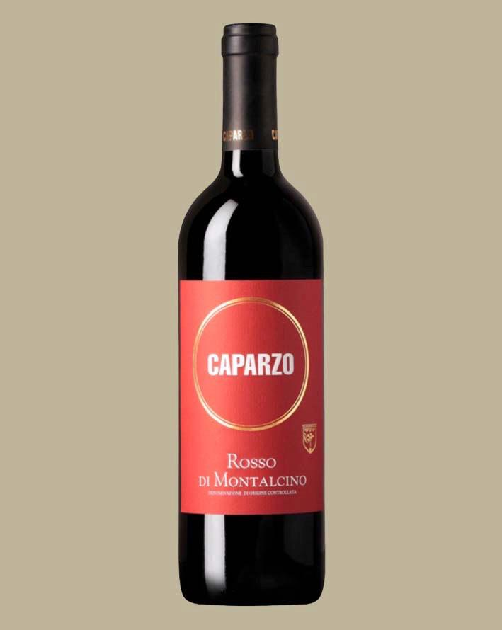 Vinho Caparzo Rosso di Montalcino DOC 2016 Tinto Itália 750 ML