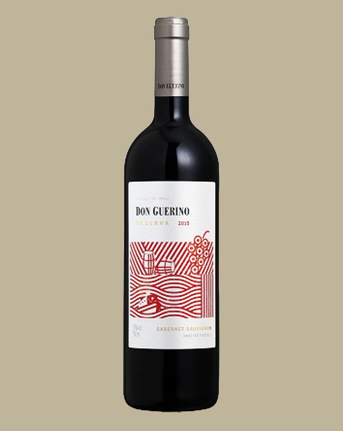 Vinho Don Guerino Reserva Cabernet Sauvignon 2018 Tinto Brasil 750 ML