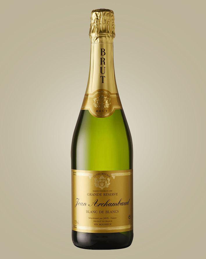 Vinho Jean Archambaud Blanc Des Blanc França 750 ml