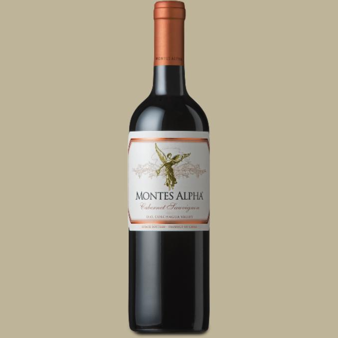 Vinho Montes Alpha Cabernet Sauvignon Tinto Chile 750 ml