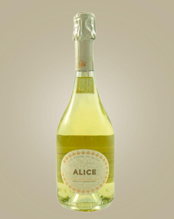"""Prosecco valdobbiadene superiore docg """"Alice"""" - Le Vigne di Alice Srl"""