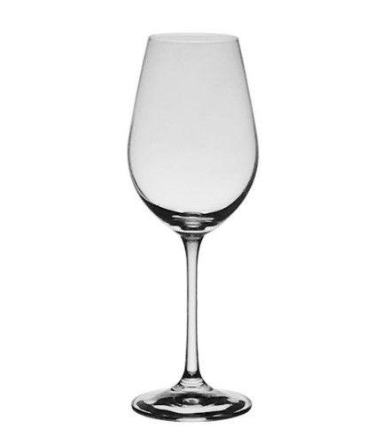 Kit 6 Taças cristal titânio Bohemia - Helena vinho Branco 250ml - Importada da Alemanha