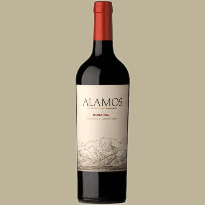 Vinho Alamos Bonarda 2018 Tinto Argentina 750 ml