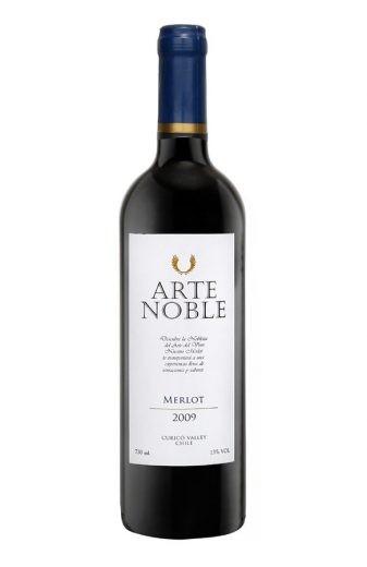 Vinho Arte Noble Merlot 2016 Tinto Chile 750 ml