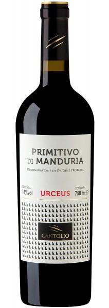 Vinho Cantolio Urceus Primitivo di Manduria 2018 Tinto Italia 750 ml