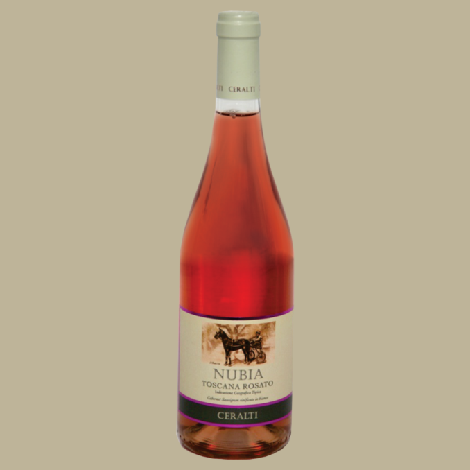 Vinho Ceralti Nubia Toscana Rosé Itália 750 ml