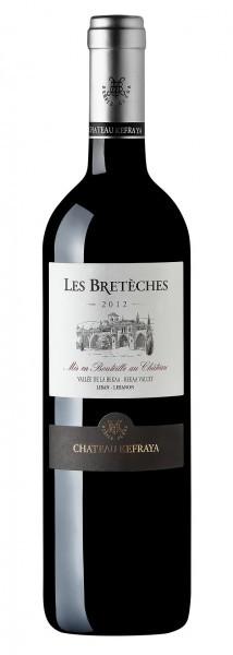 Vinho Chateau Kefraya Les Bretèches Rouge 2012 Libano Tinto 750 ml