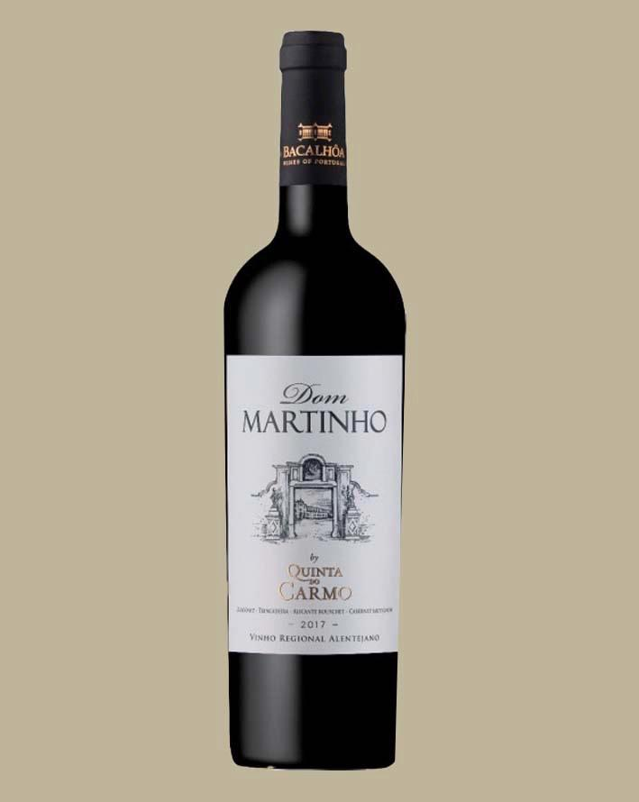 Vinho Dom Martinho Quinta Do Carmo 2017 Tinto Portugal 750 ml