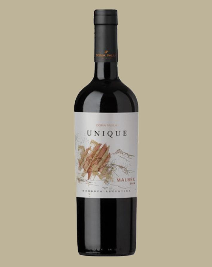 Vinho Doña Paula Unique Malbec 2018 Tinto Argentina 750ml