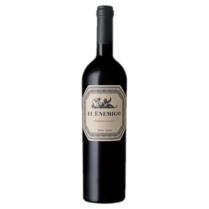 Vinho El Enemigo Cabernet Franc 2017 Tinto Argentina 750 ml