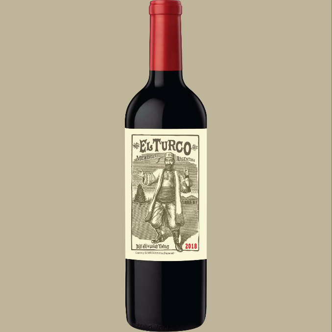 Vinho El Turco Blend de Tintas Tinto Argentina 750 ml