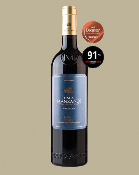 Vinho Finca Manzanos Garnacha 2018 Tinto Espanha 750 ml