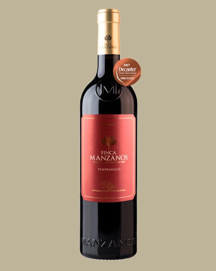 Vinho Finca Manzanos Tempranillo 2018 Tinto Espanha 750 ml