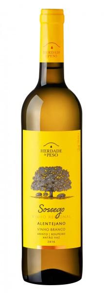Vinho Herdade do Peso Sossego 2016 Portugal Branco 750 ml