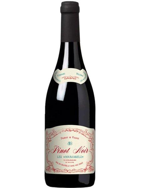 Vinho Les Bourgarels Pinot Noir Tinto França 750 ml