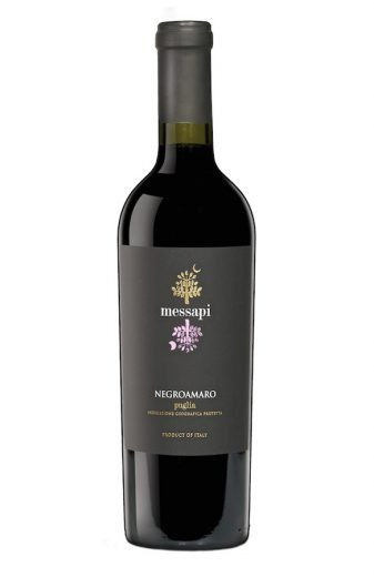 Vinho Messapi Negroamaro Puglia IGP 2017 Portugal Tinto 750 ml