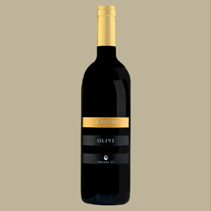 Vinho Olive Le Buche IGT Tinto Itália 750 ml