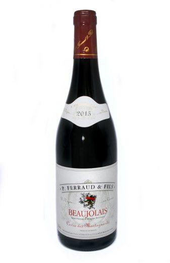 Vinho P. Ferraud & Fils Cuvée des Montagnards AOC Beaujolais 2015 Tinto França 750 ml