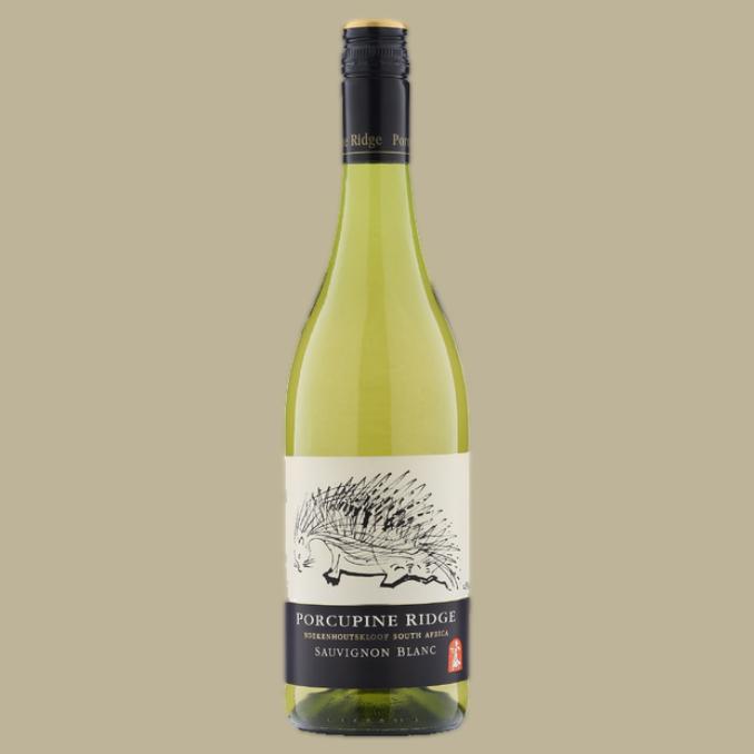Vinho Porcupine Ridge Sauvignon Blanc 2019 Branco África do Sul 750 ML