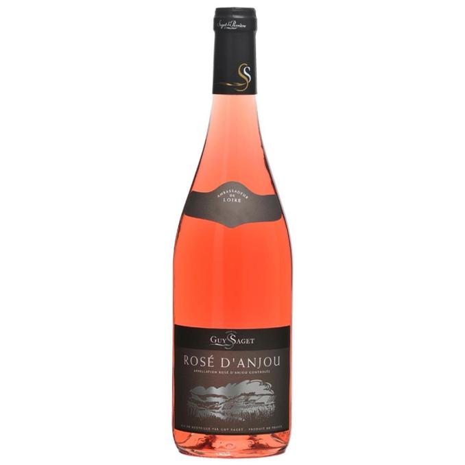 Vinho Rosé D'anjou Domaine Guy Saget 2017 França 750ML