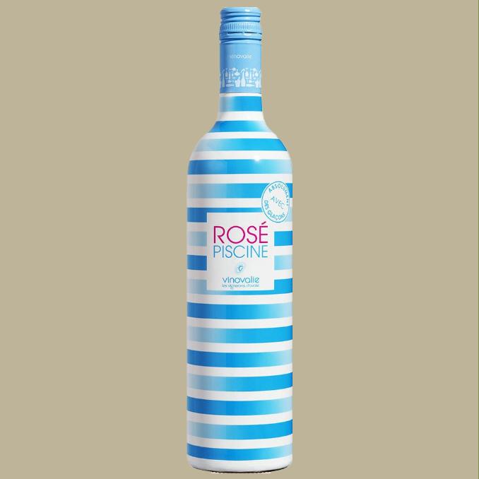 Vinho Rosé Piscine Strips Rosé França 750 ml