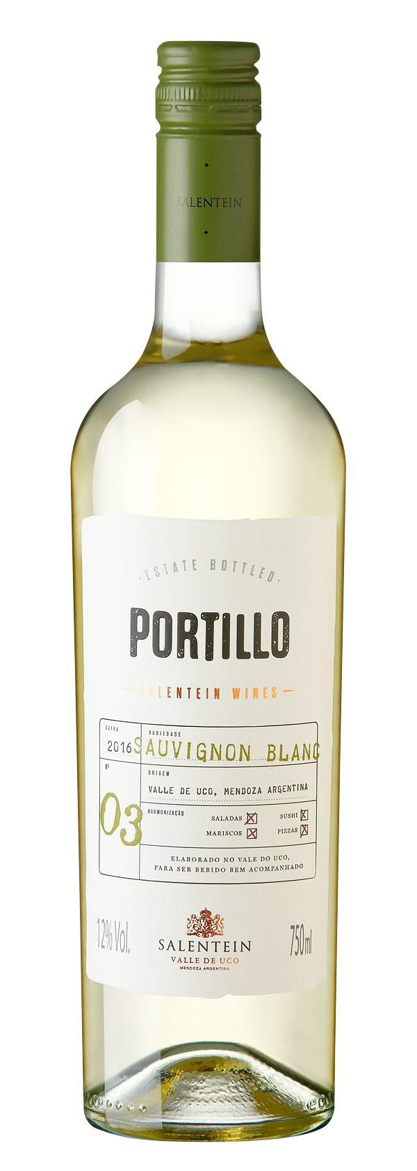 Vinho Salentein Portillo Sauvignon Blanc 2019 Argentina Branco 750ml