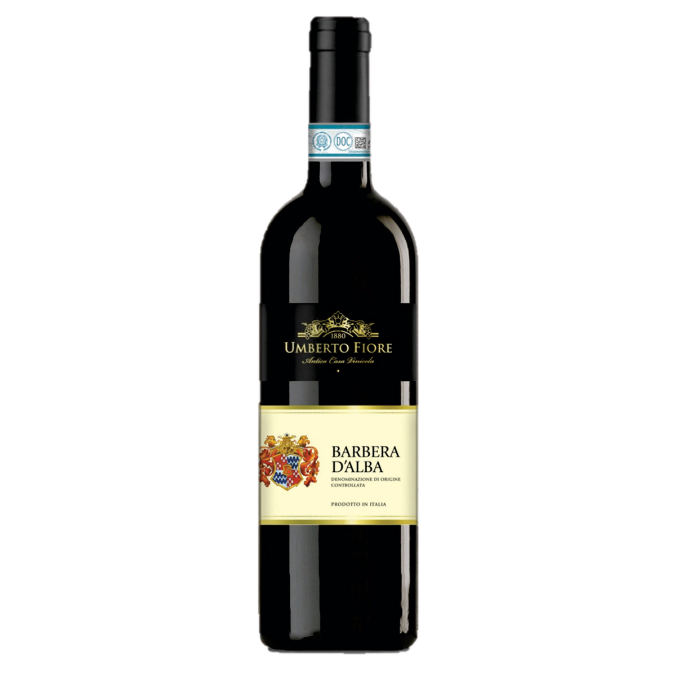 Vinho Umberto Fiore Barbera D'Alba Tinto Itália 750 ml