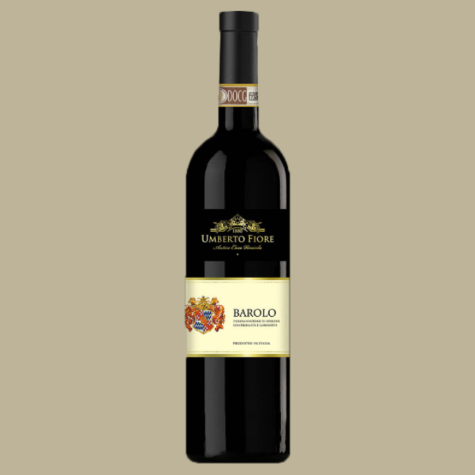 Vinho Umberto Fiore Barolo 2015 Tinto Itália 750 ML