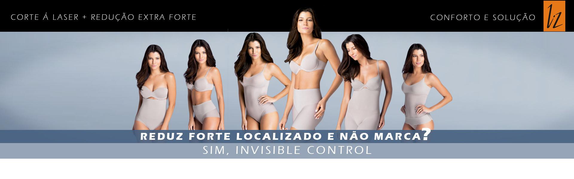 Invisible Control - Zero marcas e reduz medidas extra forte