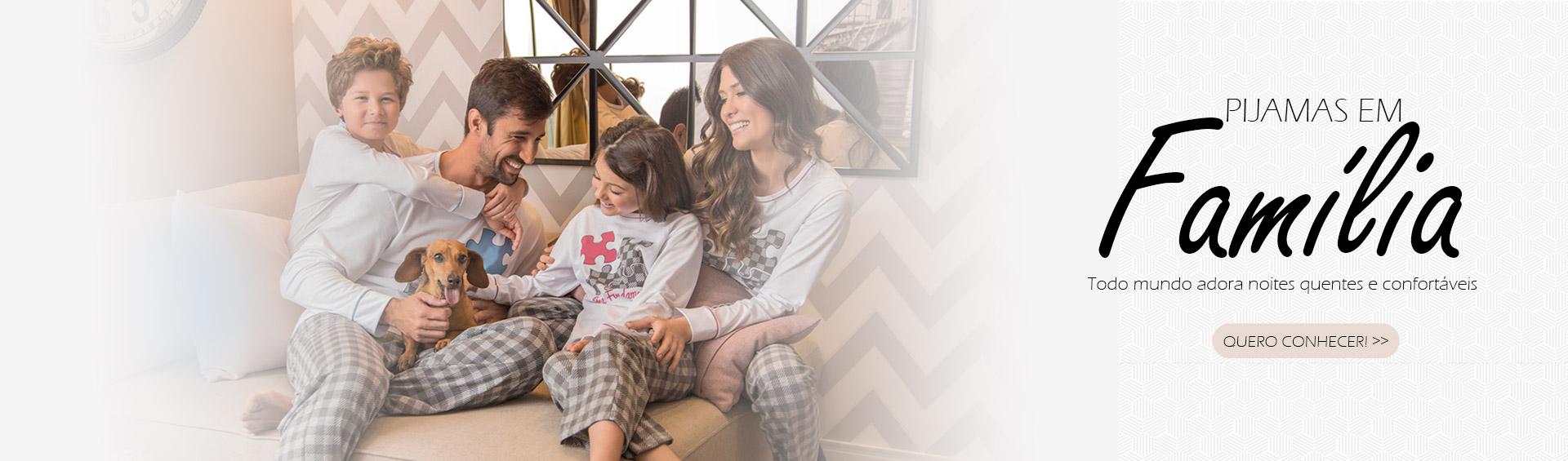 todo mundo adora pijamas quentes e confortáveis