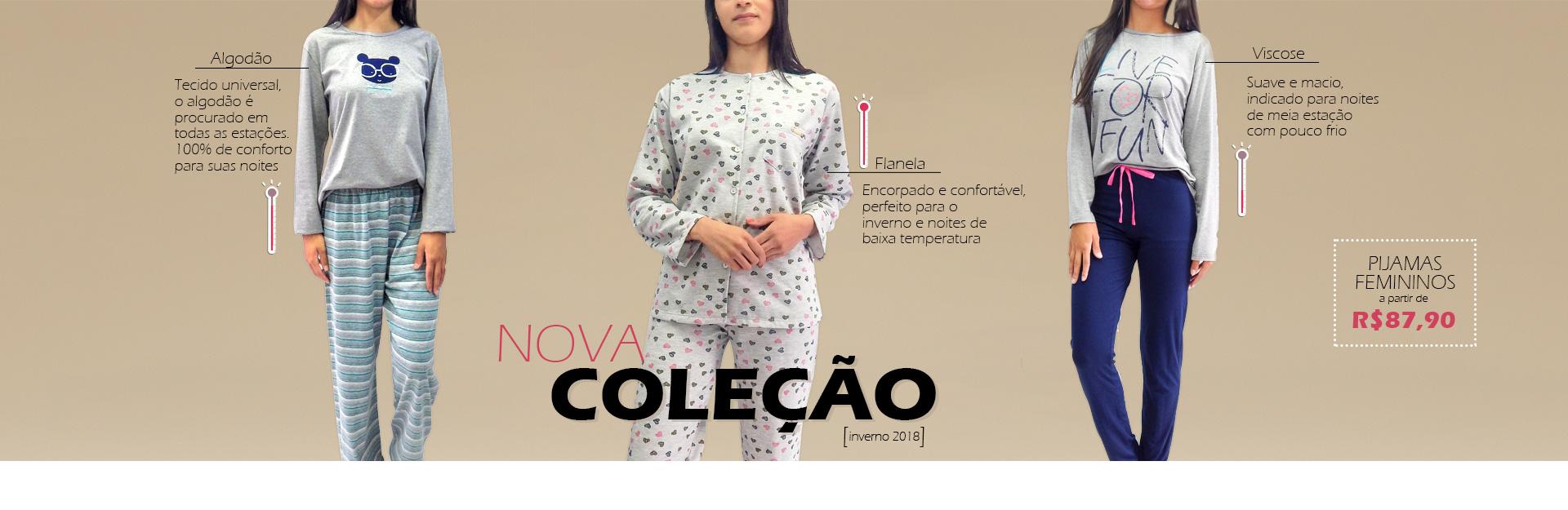 Pijamas femininos. Veriedade de modelos e estilos para um inverno congelante!