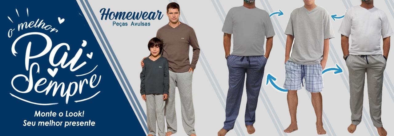 Dias dos Pais com o pijama no estilo dele