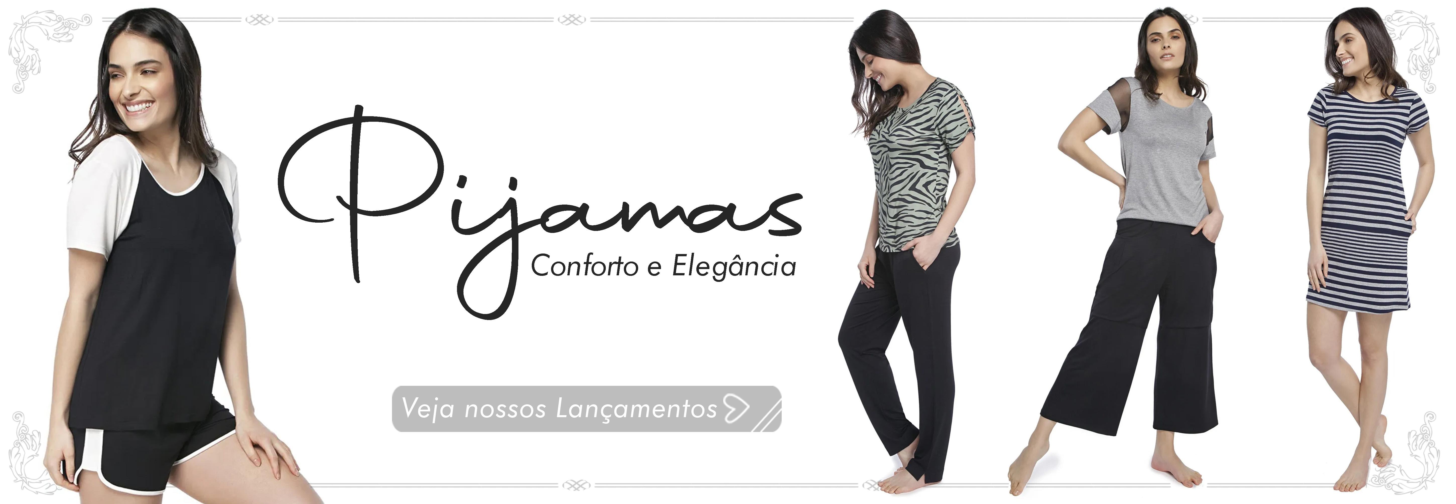 Pijamas Modernos Femininos