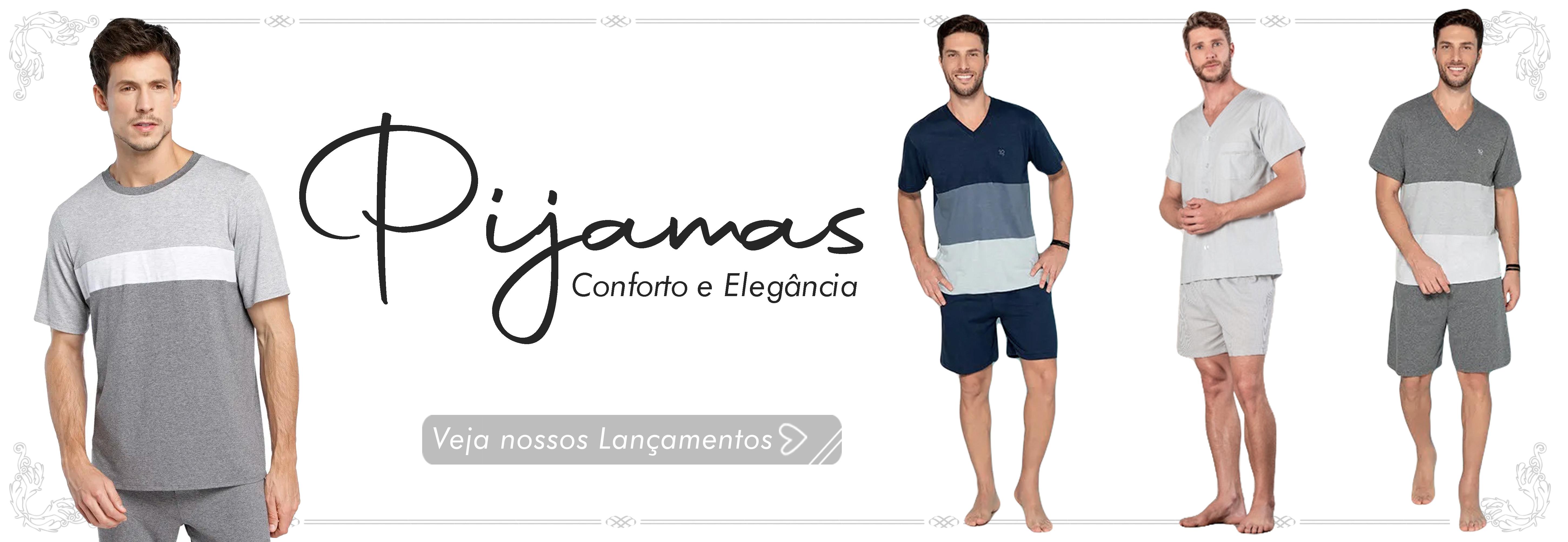 Pijamas Modernos Masculinos