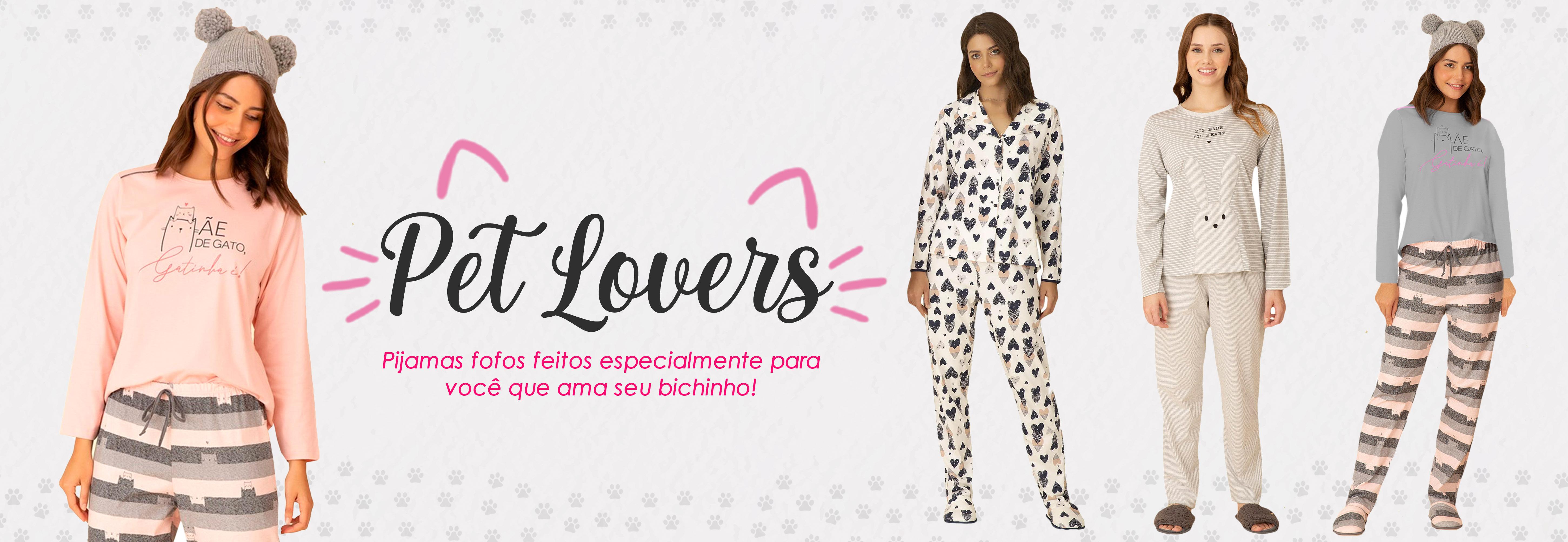 pijamas pra quem ama pets! 😍 🐶